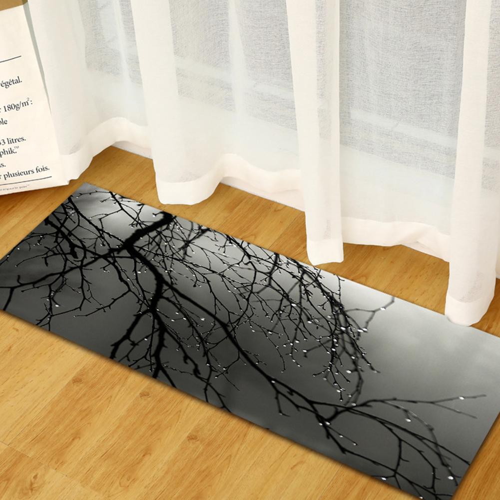 Rectangle 3D Kitchen Sofa Wardrobe Shoe Cabinet Floor Mat Home Door Carpet Ct1081_40*120cm