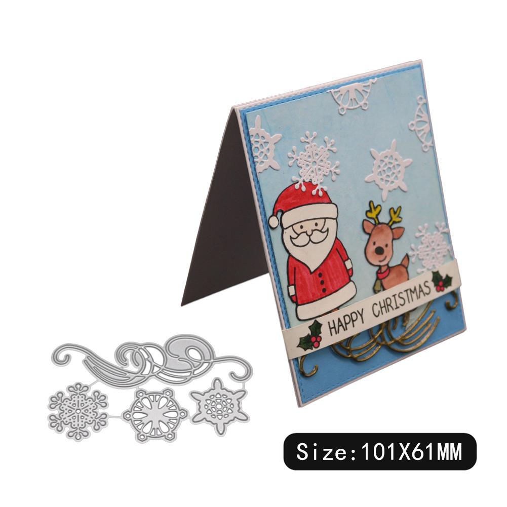 Carbon Steel Cutting Dies for DIY Christmas Series Scrapbooking Album Paper Cards Die Cuts 1804475