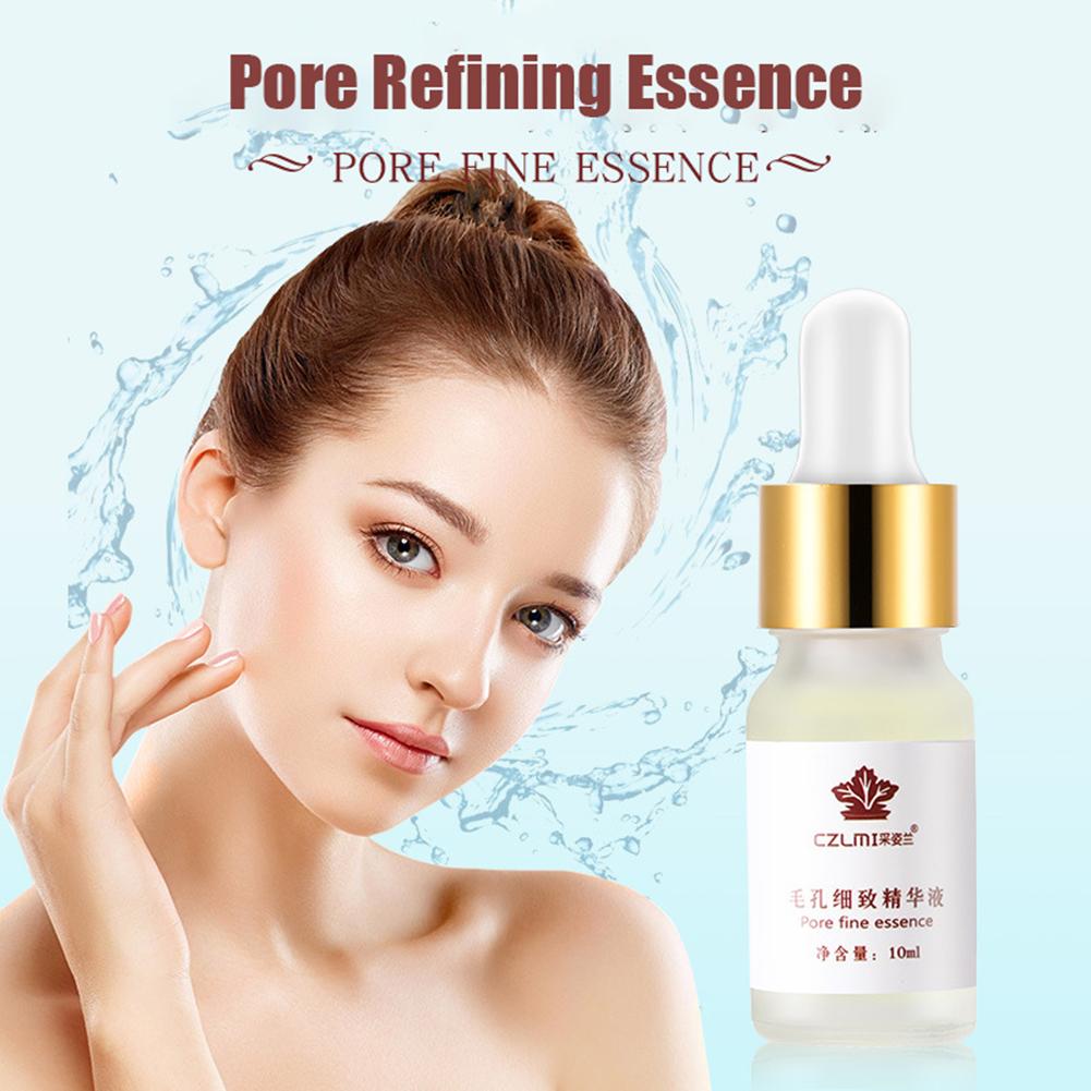 10ml/bottle Makeup Face Primer Pores  Shrinking  Essence  Oil For Skin Care 10ml