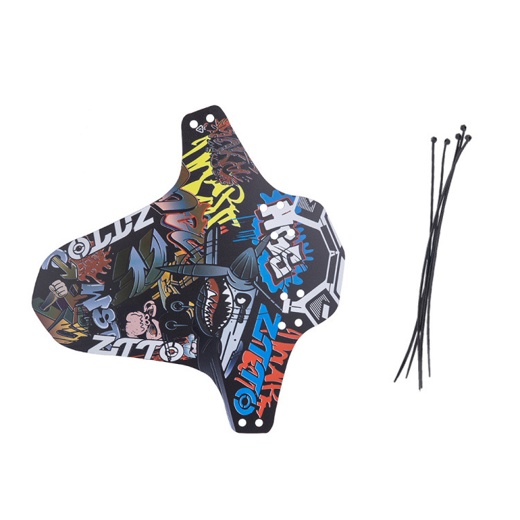 ZTTO MTB Mudguard Bicycle Dirtboard Lightest Front Back Short Long Mudguards for Mountain Road MTB Bike As shown short