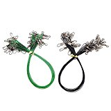 Fishing Tools Fishing Line Steel Wire Leader With Swivel And Snap 20Pcs/Pack