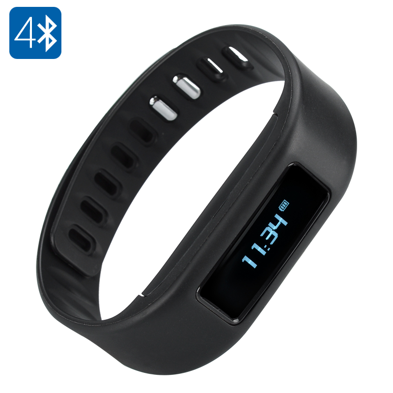 Bluetooth 4.0 Smart Wristband (Black)