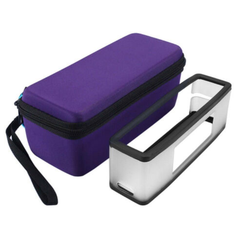 Protection Storage Case Bag for Bose SoundLink Mini 1/2 Bluetooth Speaker  purple