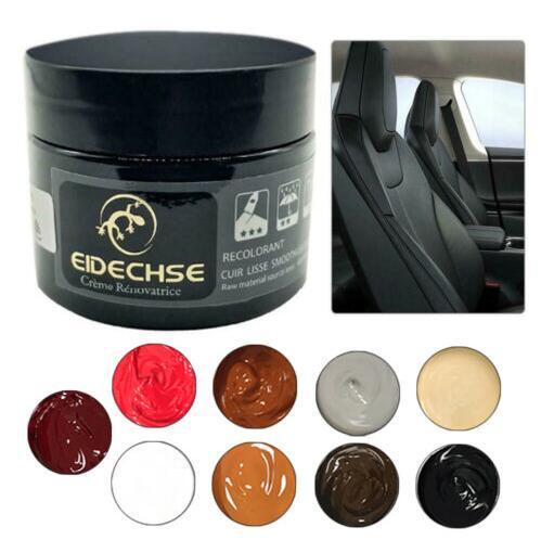 Worn Car Seat Sofa Leather Repair Cream Color Paste Dye Restorer Renew Supplies Jujube red