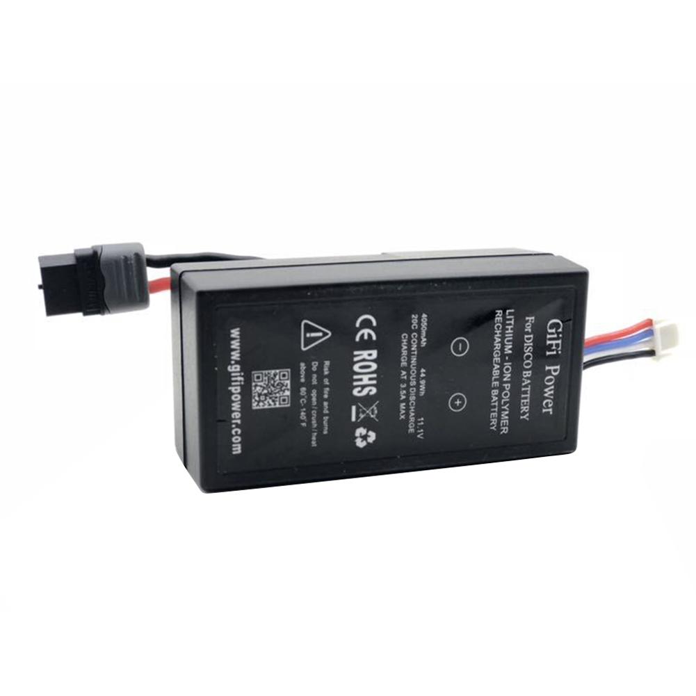 11.1V 4050mah LiPo Battery for Parrot Disco black