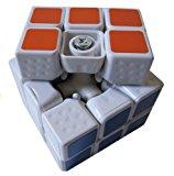 MILLIONACCESSORIES® New!! 3x3 Linglong 46mm Mini 3x3x3 White Speed Cube Puzzle