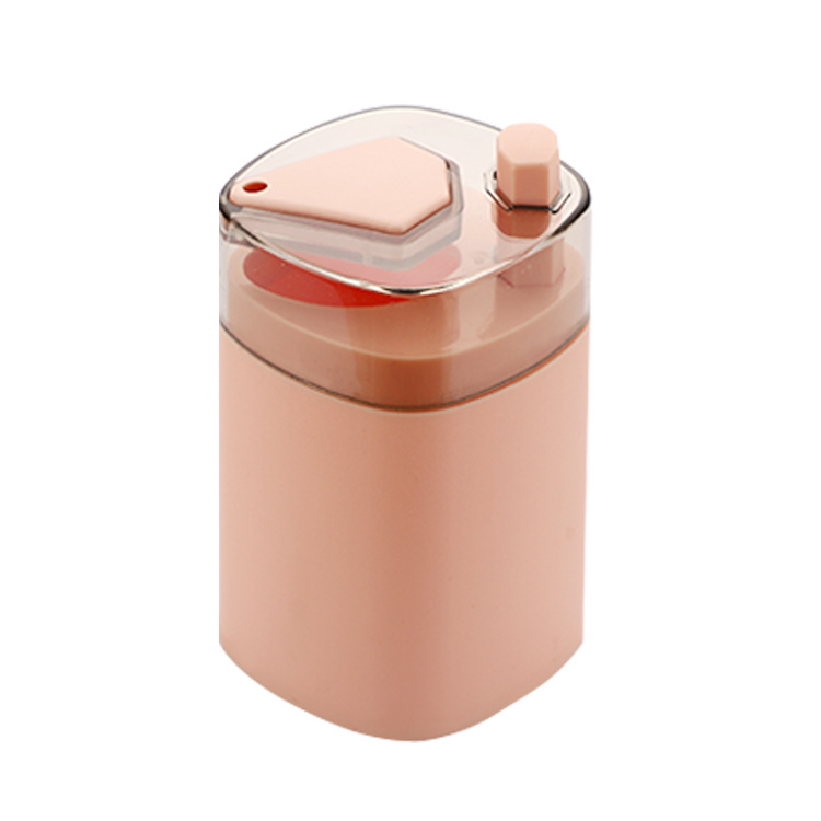 Automatic Toothpick  Box Portable Household Table Toothpick Container Storage Box Toothpick Dispenser Nordic pink