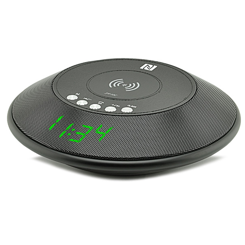 Wireless Charger Bluetooth Speaker (Black)