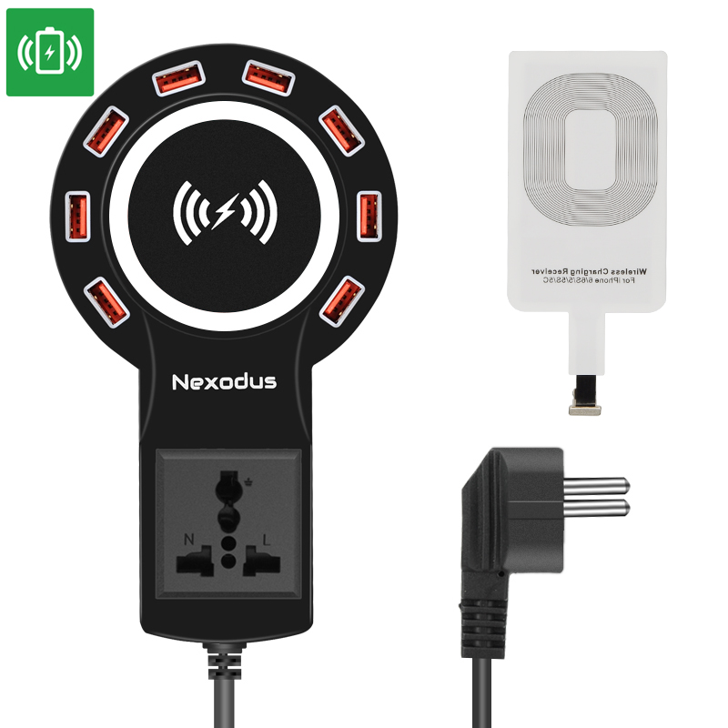 Nexodus LifeLine USB Charging Station (Black)