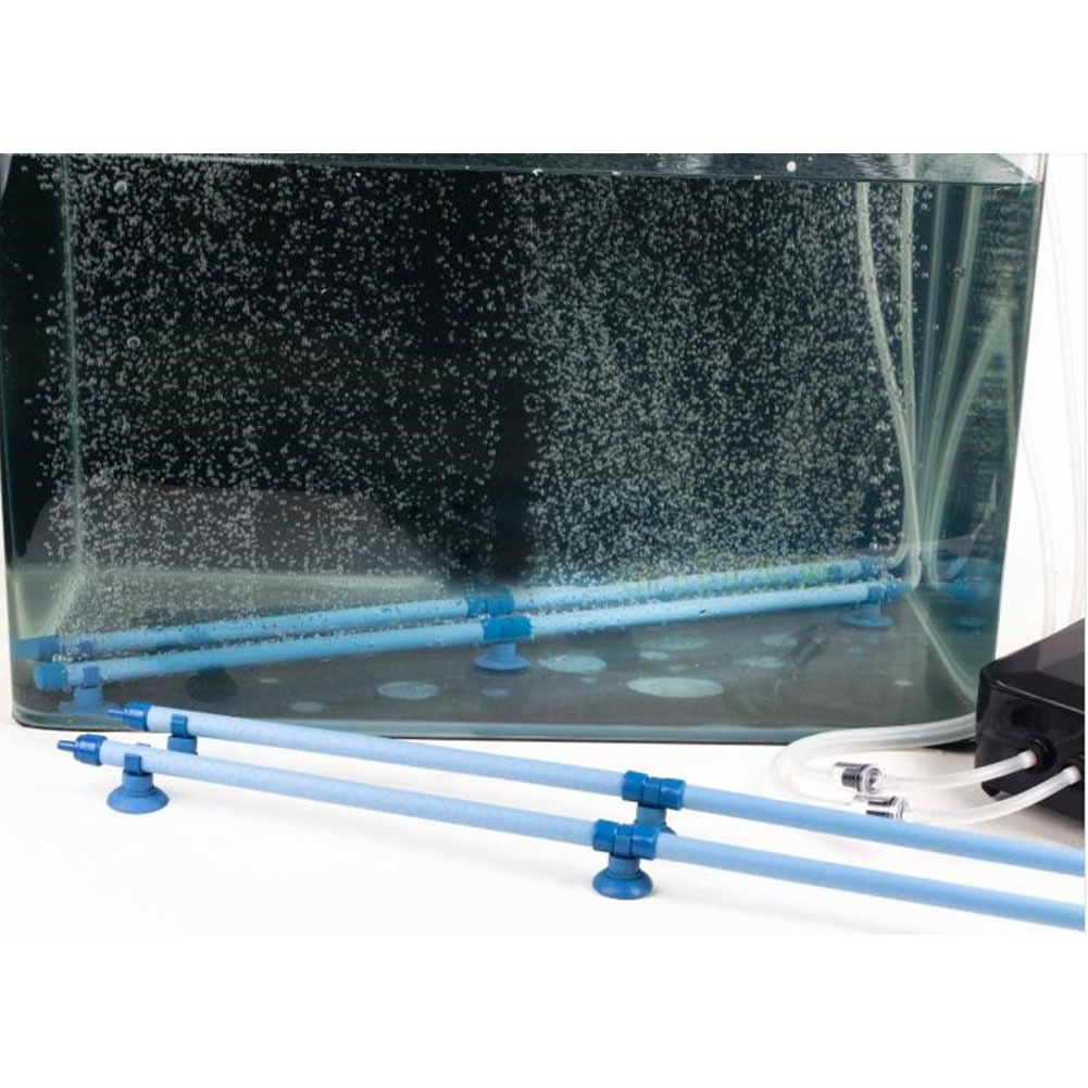 10Inches Removable Oxygen Supply Pipe for Aquarium Fish Tank 10 inch blue