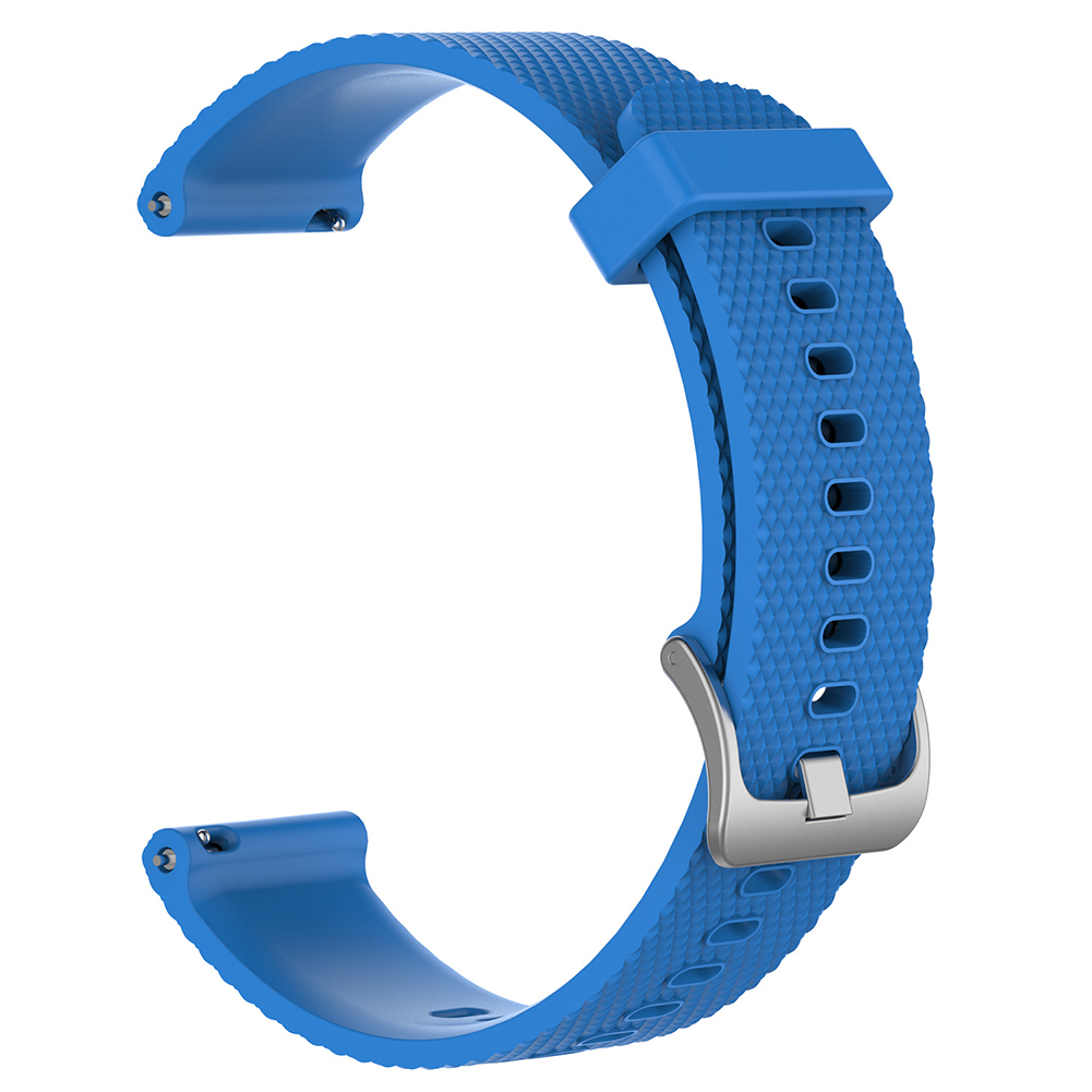 For Ticwatch c2 Smart Watch Replacement Solid Color Silicone Strap Wristband sky blue