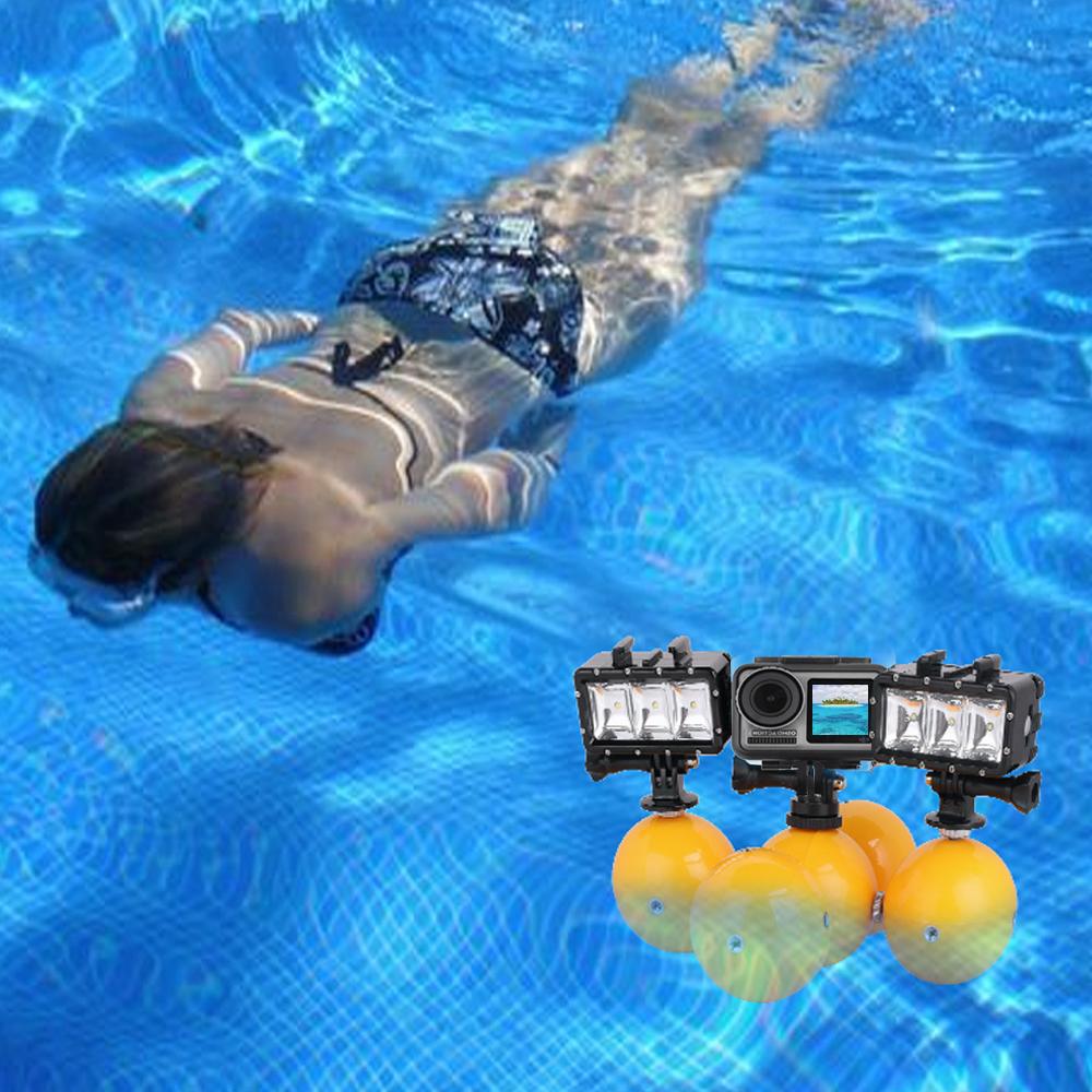 1 Pc/5 Pcs Underwater Camera Floating Buoyancy Ball Mini Floaty Holder  1 pc