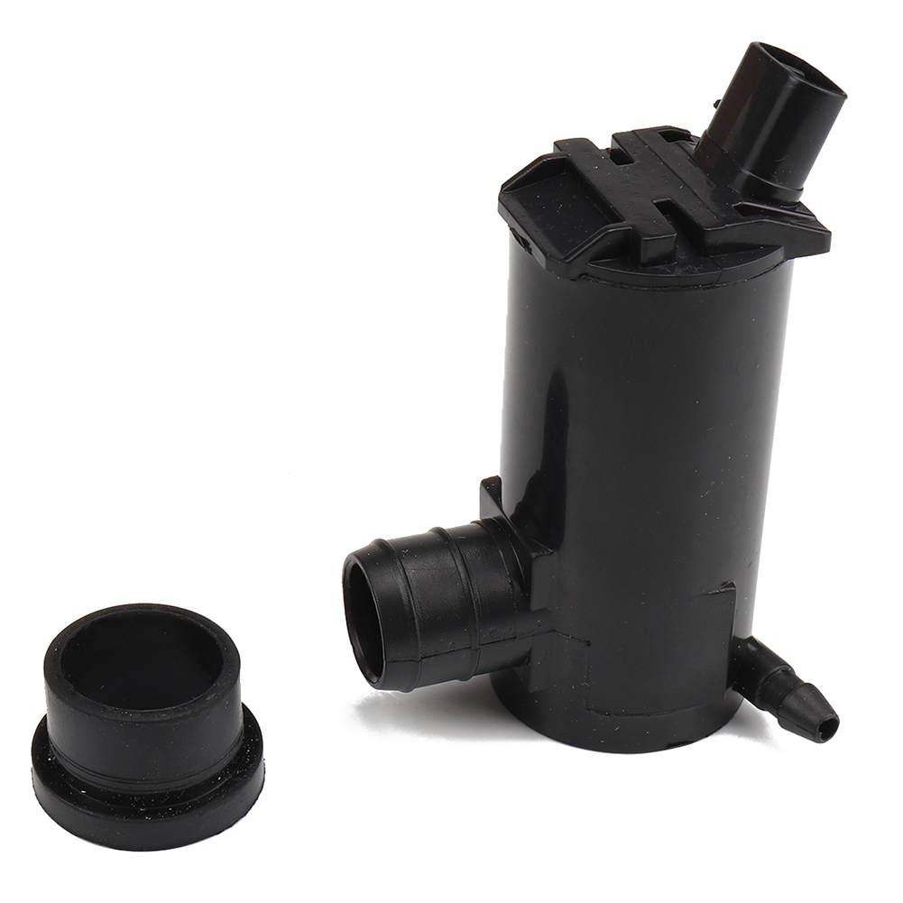 Windshield Washer Pump Wiper Scrubber Spray Pump for Elantra Sonata OE:98510-3B000 black