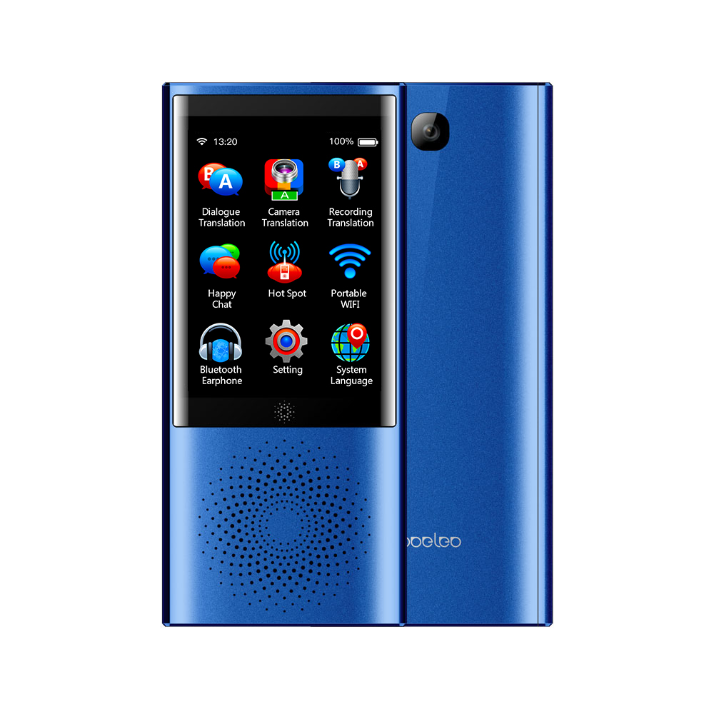 Boeleo Smart Business Voice Translator Blue