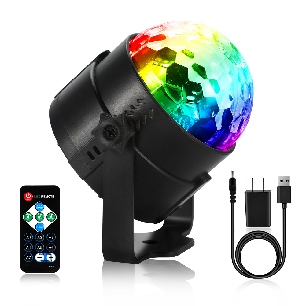 2 Packed LED Lights RGB w. Remote Controller