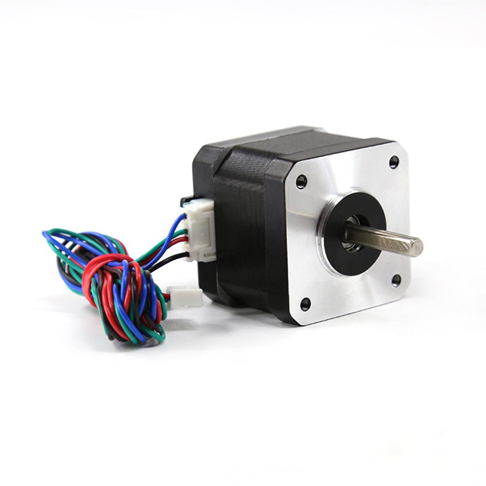17HS4401 4-lead Nema 17 Stepper Motor 42 Motor 42BYGH 1.5A with Line 1m Wire CE CNC 3D Printer Motor