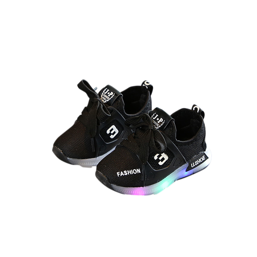 Unisex Children LED Light Shoes