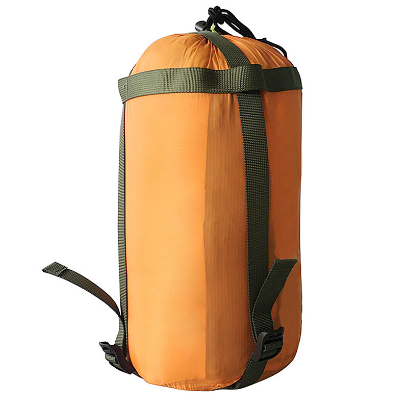 Outdoor Camping Sleeping Bag Compression Pack Hammock Storage Pack Lightweight Package For Camping Travel drift Hiking Orange_Free size