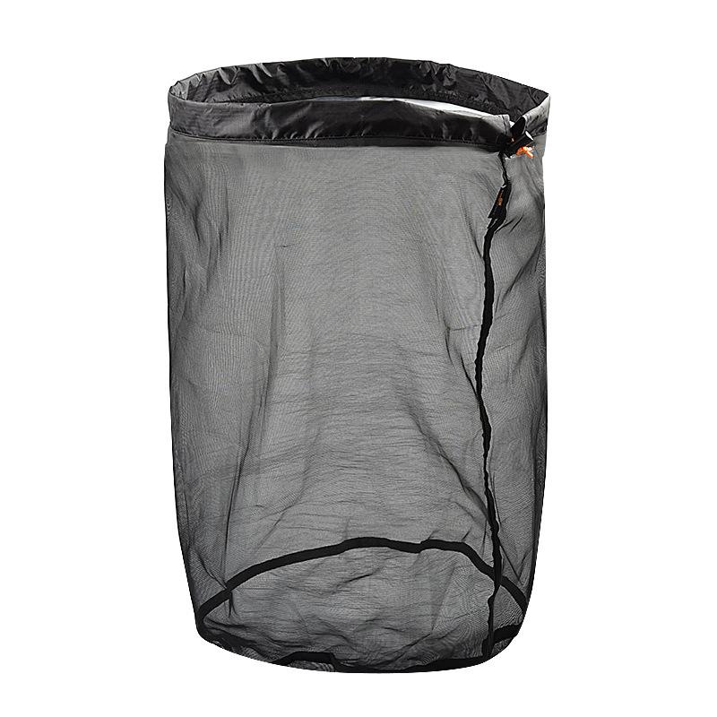 Outdoor Camping Hammock Sleeping Bag Compression Bag Waterproof Stuff Bag Hammock Storage Pouch Black XXL