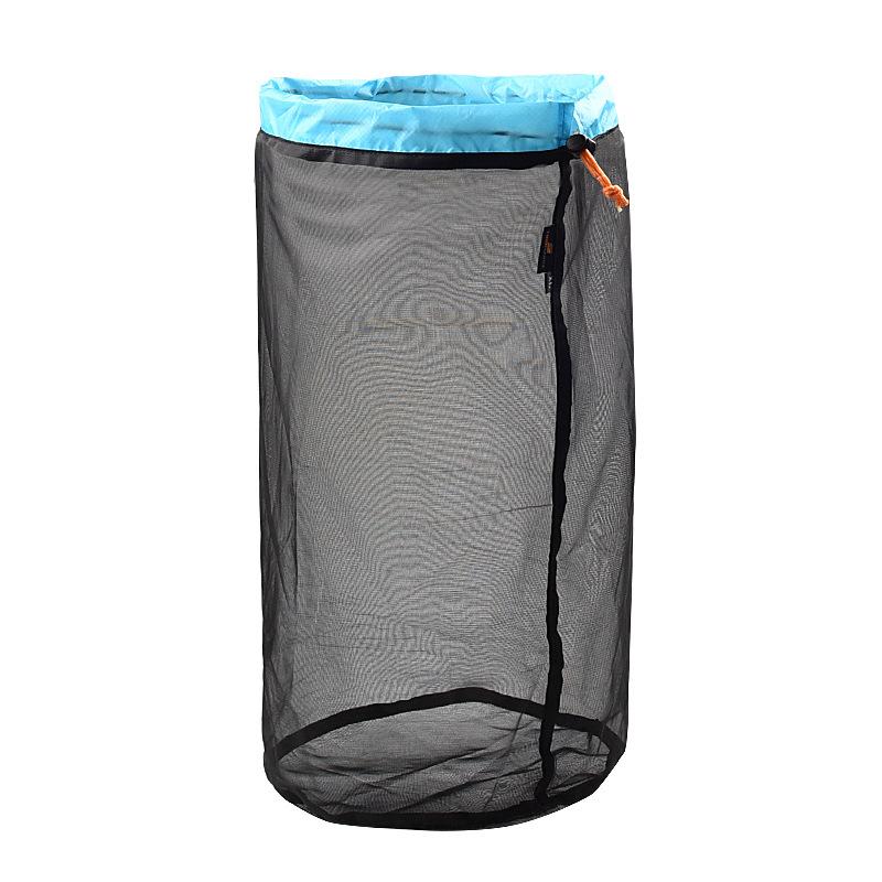 Outdoor Camping Hammock Sleeping Bag Compression Bag Waterproof Stuff Bag Hammock Storage Pouch Blue black XL