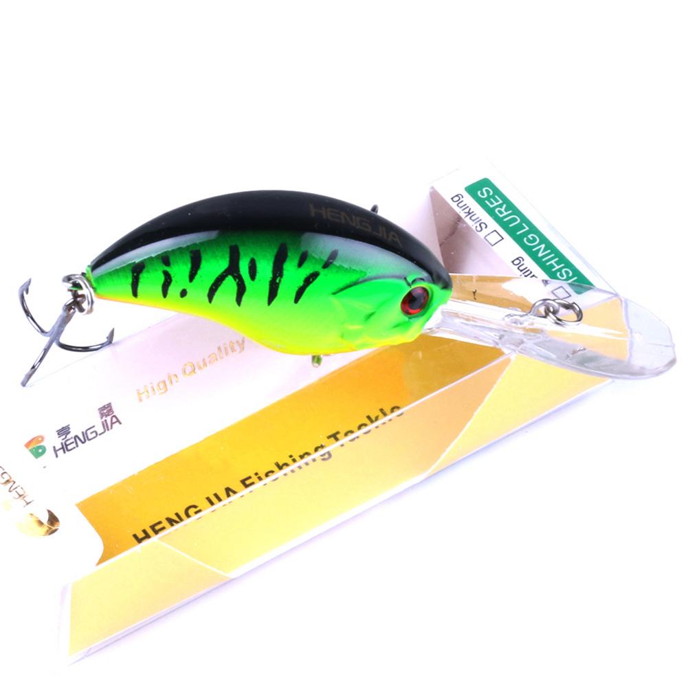9CM Fishing Lure Crankbait Floating Wobblers Hooks Baits Tackle Hard Baits 7 #