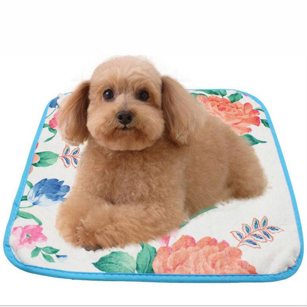 220V 18W Pet Electric Heat Pad Electric Blanket Pet Bed for Cat Dog Bunny  Random color