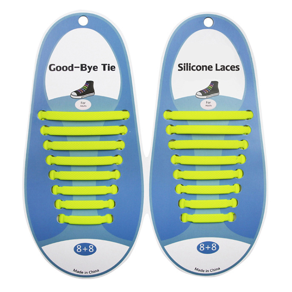 Multi-color No Tie Shoelaces for Kids and Adults