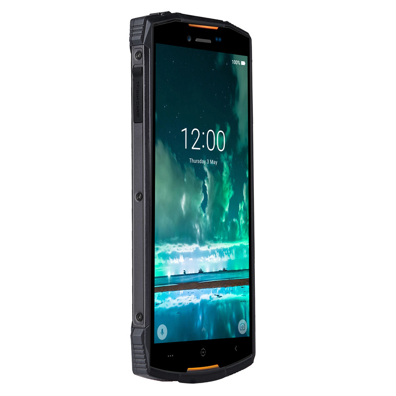 PreorderDoogee S55 Android Phone - Android 8.0, 5.5inch HD Screen, IP68, Octa-Core, 64GB ROM, Dual Camera (Orange)