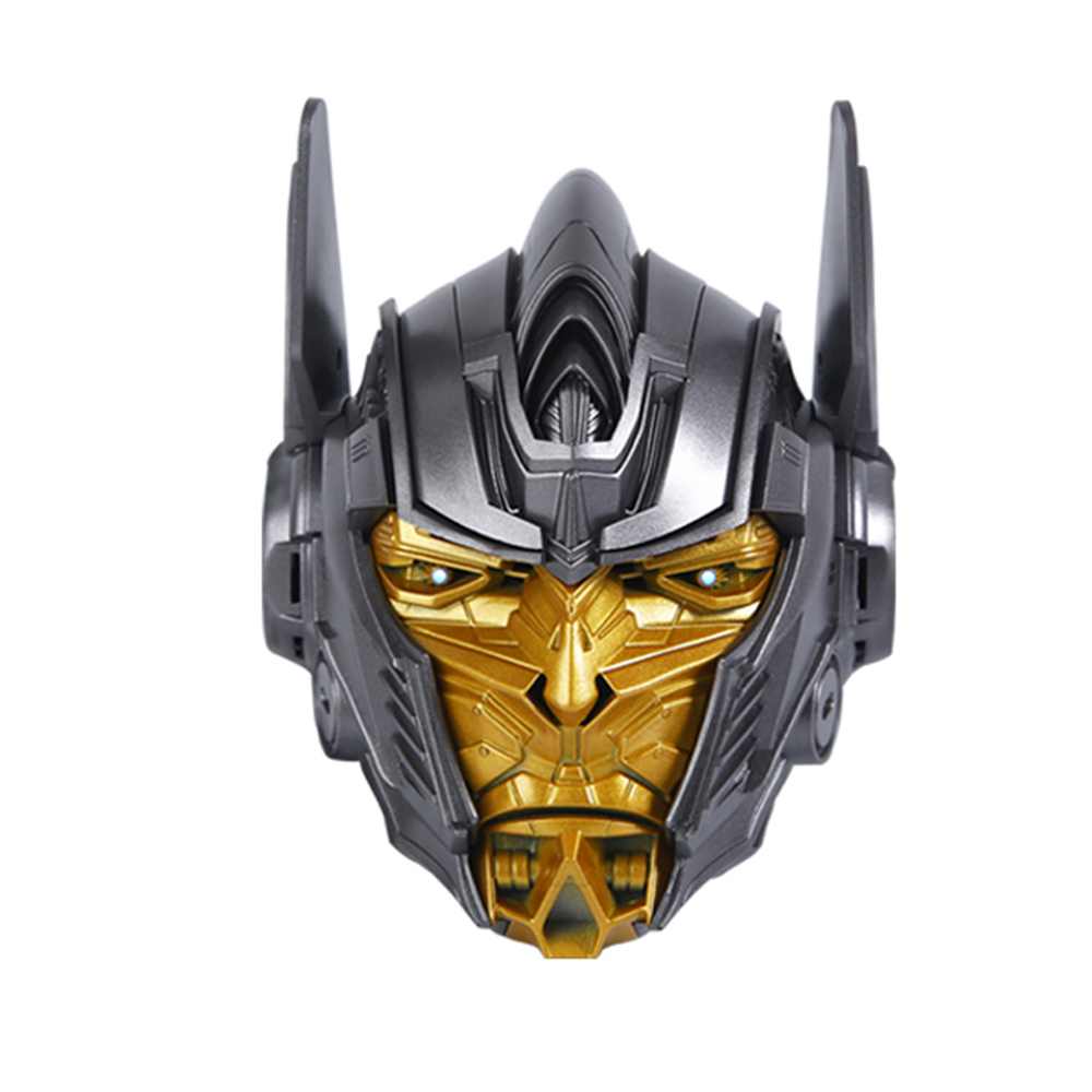 Marvel Bluetooth Speaker Optimus Prime Style Wireless Media Player Support TF Card Built-in 1200mAh Battery Gray