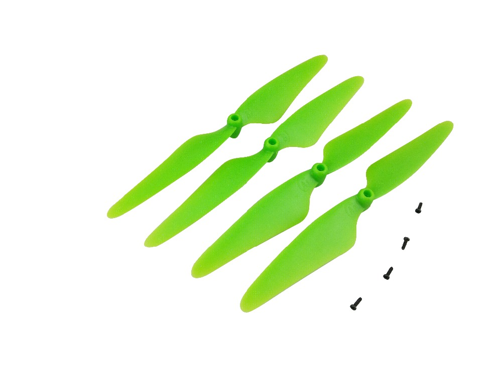 RC Quadcopter Spare Parts Propellers for Hubsan X4 H502S H502E H502T H507A H216A green