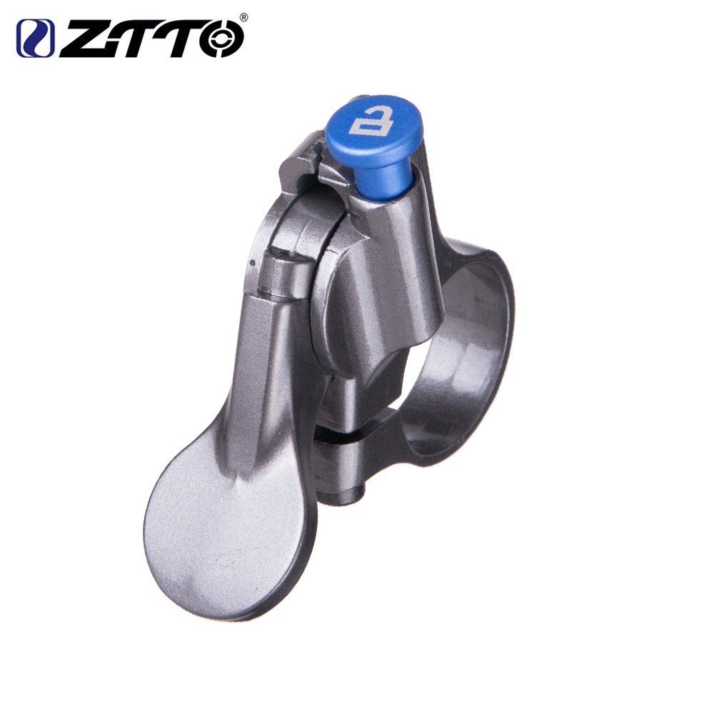 ZTTO Mountain Bicycle Wire Control Lock Switch Shock Absorption Front Fork Shoulder Control Change Wire Control Lock Switch As shown