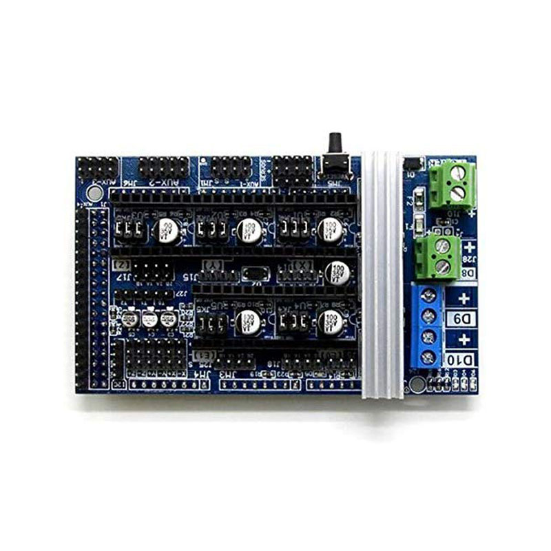 Ramps1.6 R6 Control Mainboard Ramps 1.6 Motherboard 4 Layers PCB Reprap Mendel Prusa Board Ramps Panel Compatible Mega 2560 Ramps1.6 R6 control board