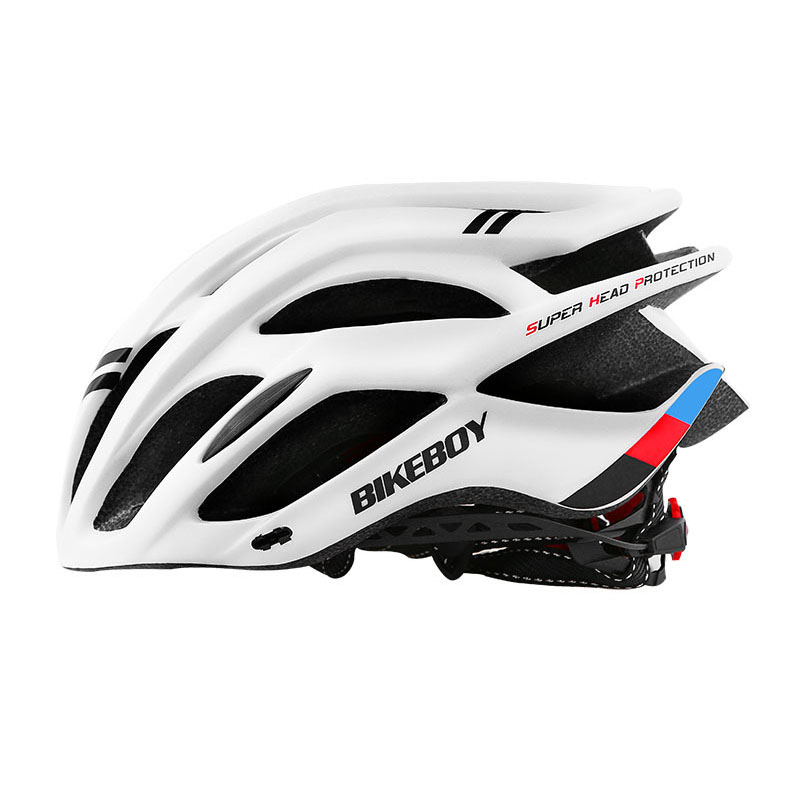Men Women Piece Molding Cycling Helmet for Head Protection Bikes Equipment  white_One size