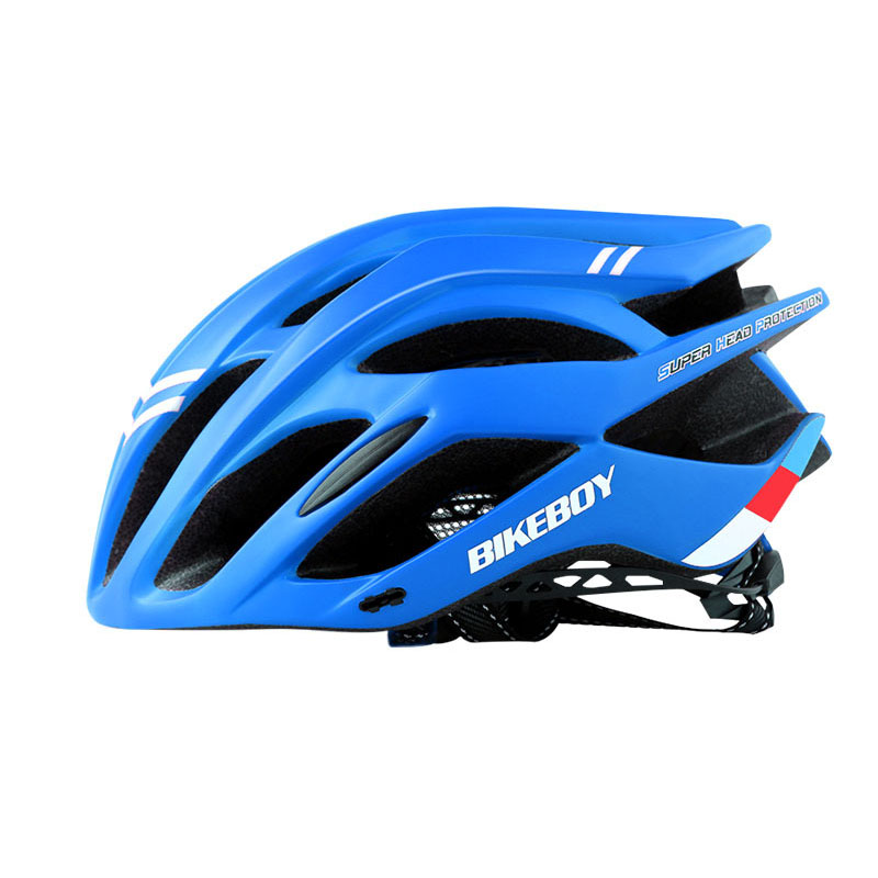 Men Women Piece Molding Cycling Helmet for Head Protection Bikes Equipment  blue_One size