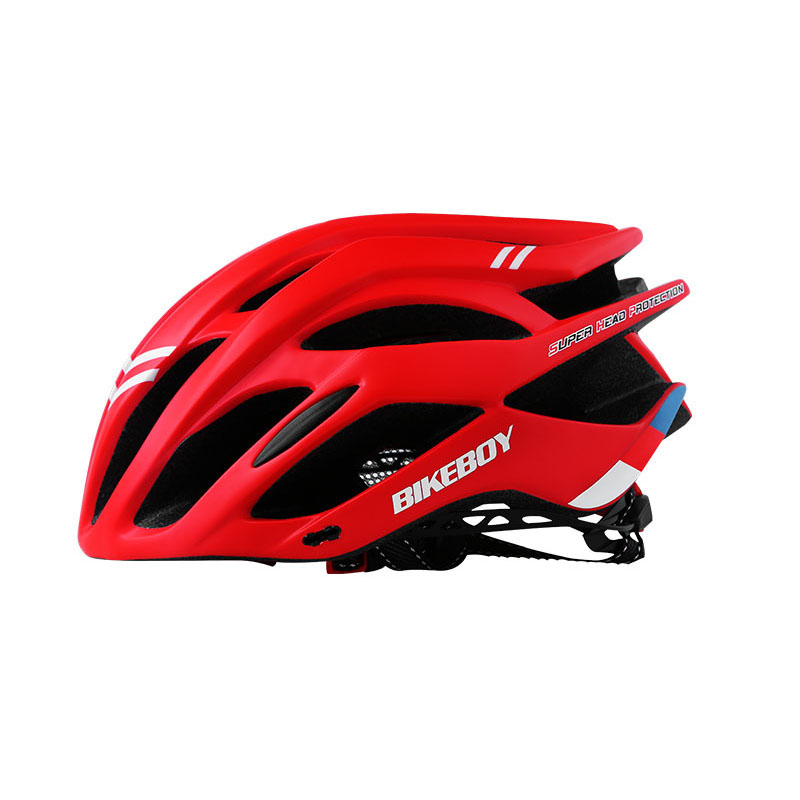Men Women Piece Molding Cycling Helmet for Head Protection Bikes Equipment  red_One size