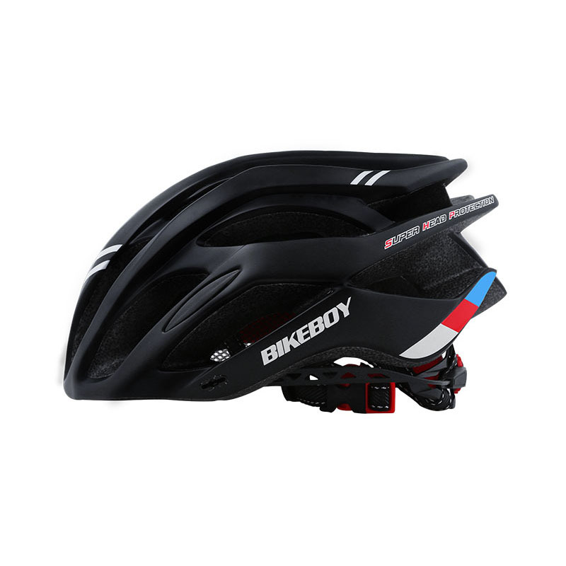 Men Women Piece Molding Cycling Helmet for Head Protection Bikes Equipment  black_One size