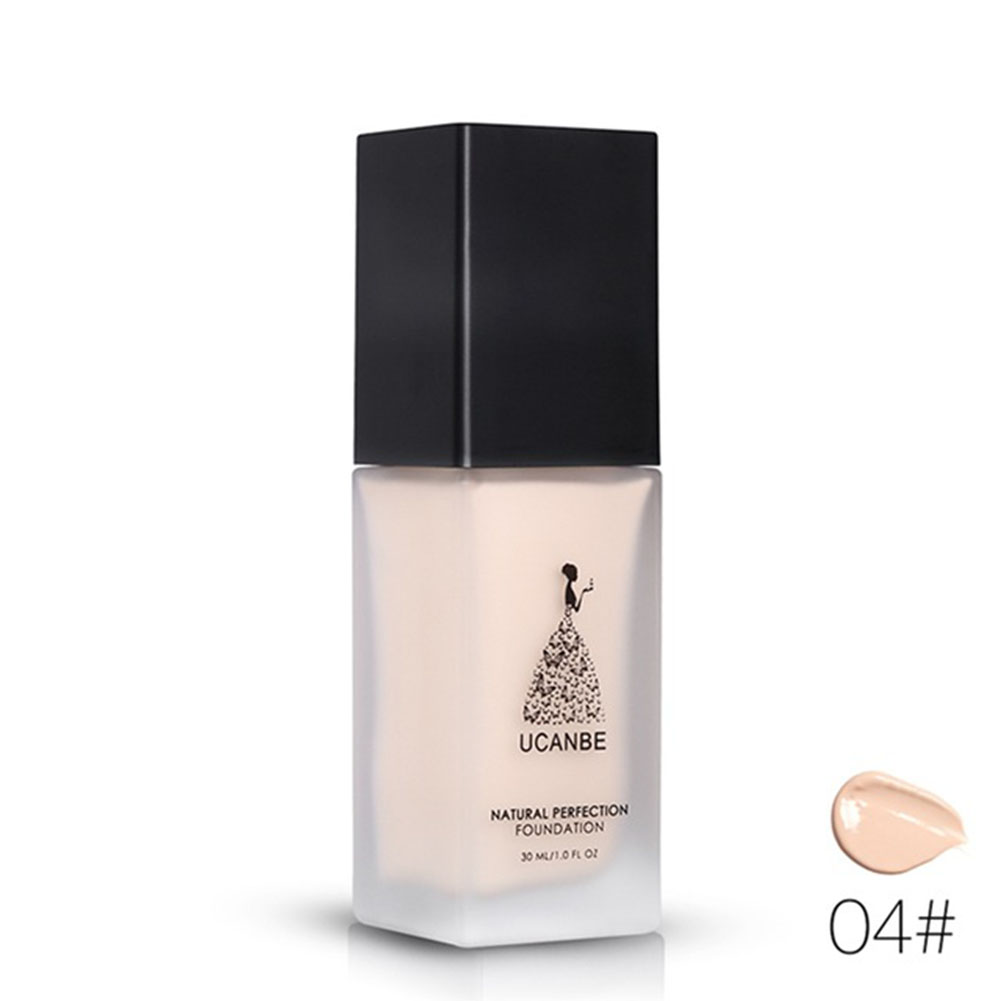 Liquid Foundation Makeup Full Cover Flaws Face Base Concealer Primer Whitening BB Cream