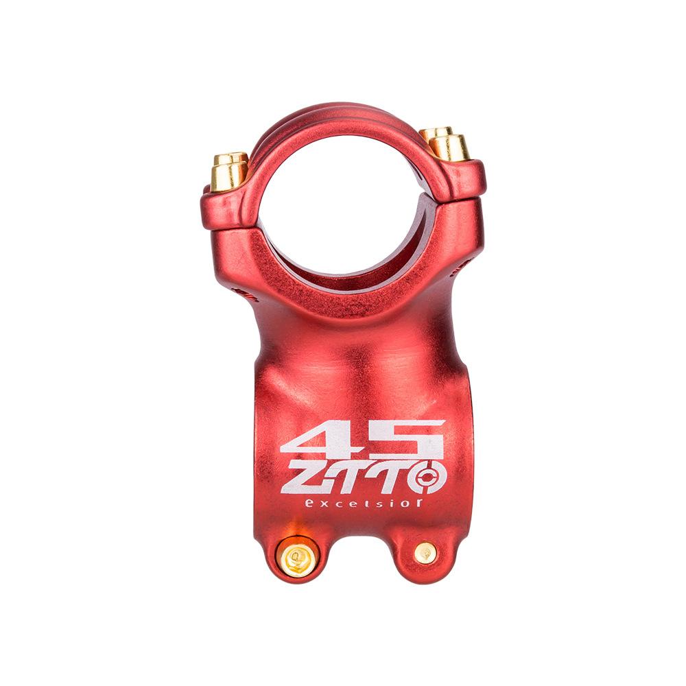 Bicycle Stem ±7° Mountain Road Bike Stem Ultralight Stem 31.8mm colourful  Bike Handlebar Stem red