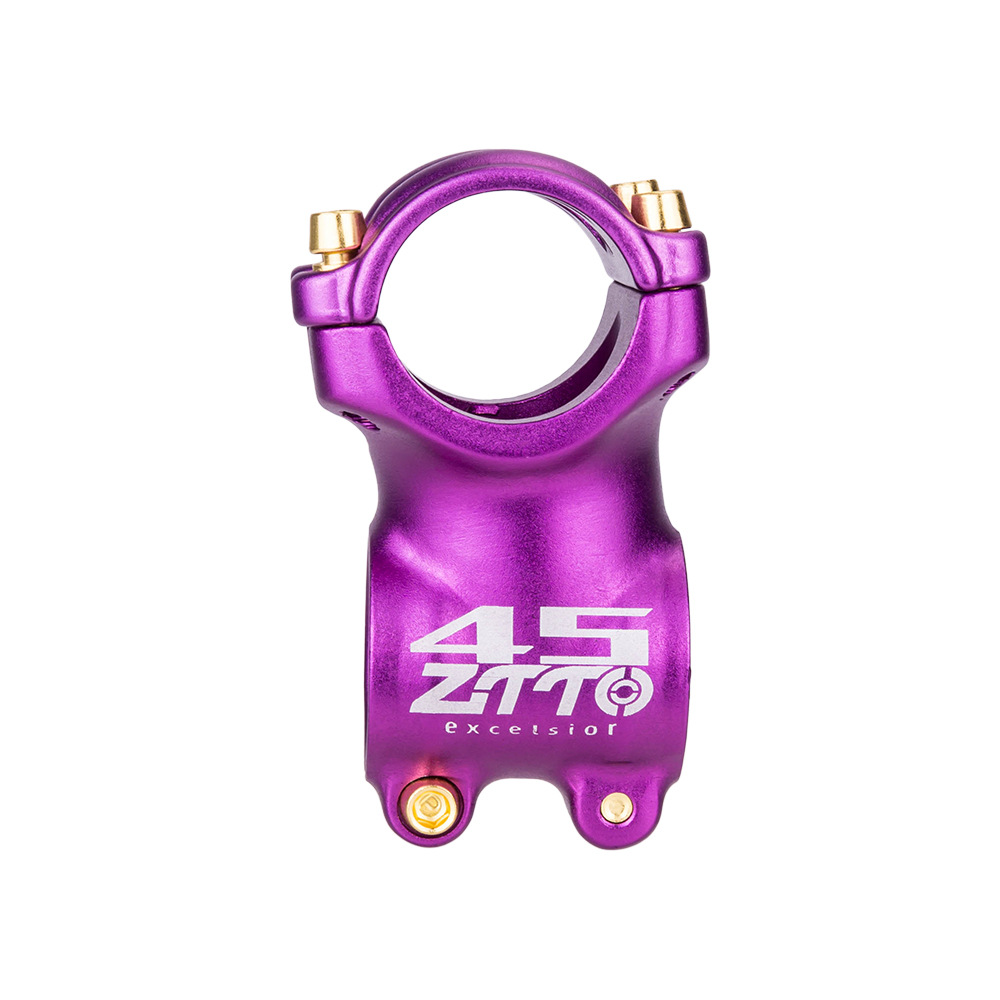 Bicycle Stem ±7° Mountain Road Bike Stem Ultralight Stem 31.8mm colourful  Bike Handlebar Stem purple