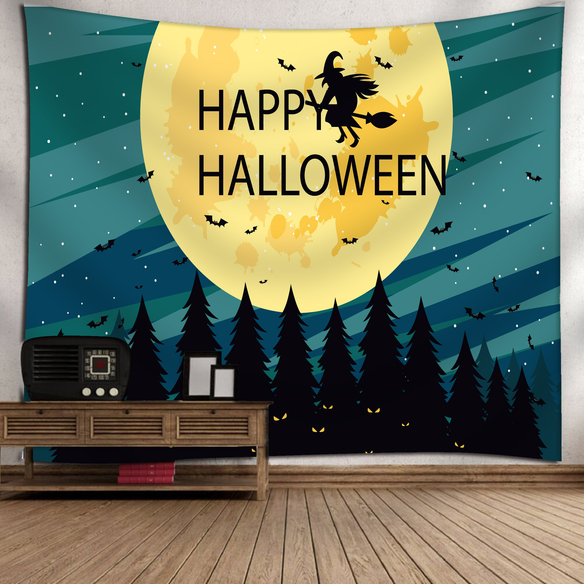 Fashion Halloween Hanging Home Tapestry Wall Decoration 16_150*130