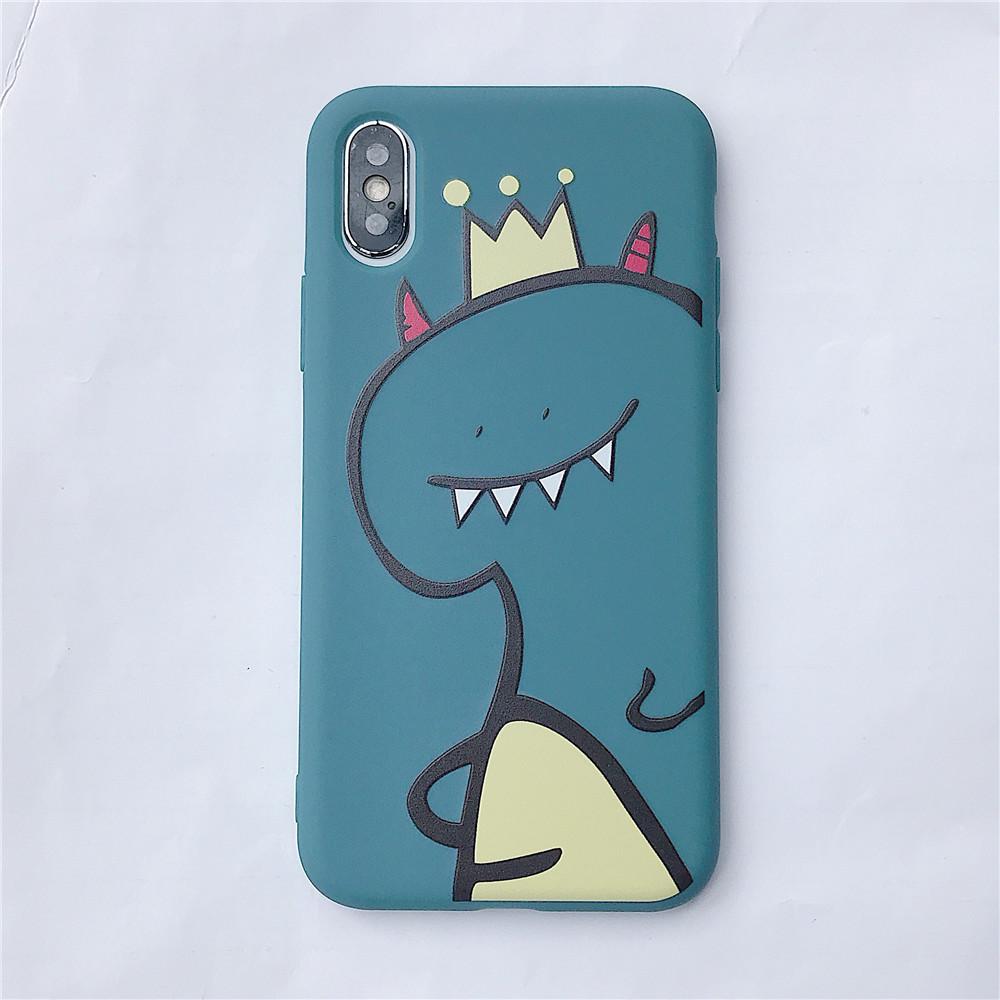 For VIVO Y66/Y67/Y91/Y95/Y93/Y97/V15/S1/Y83/Y85/Z3/Z3I/V11I/Z5X/Z1 Pro TPU Cellphone Case Shell Dinosaur Back Cover blue