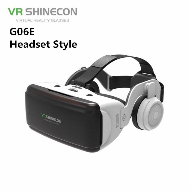 VR Virtual Reality 3D Glasses Headset Helmet