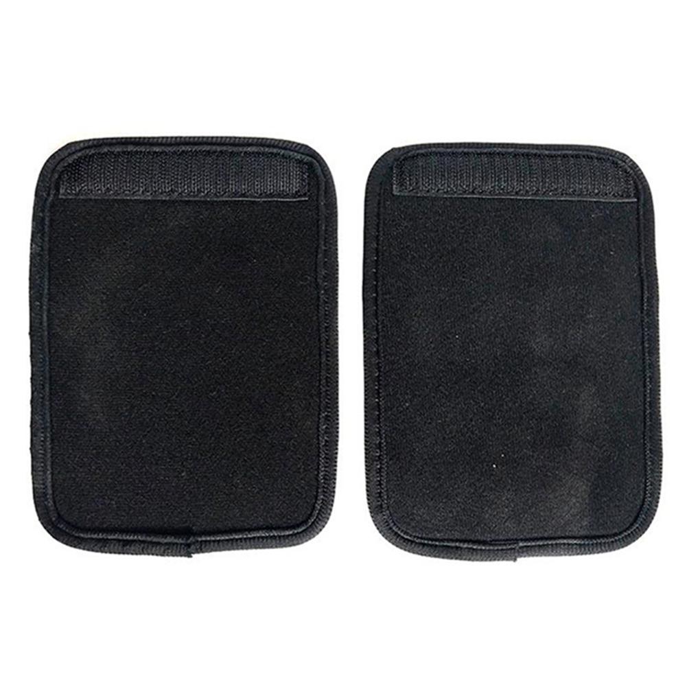 Back Correction Belt Armpit Protective Pad Velvet Velcro Corrector Accessory black_2