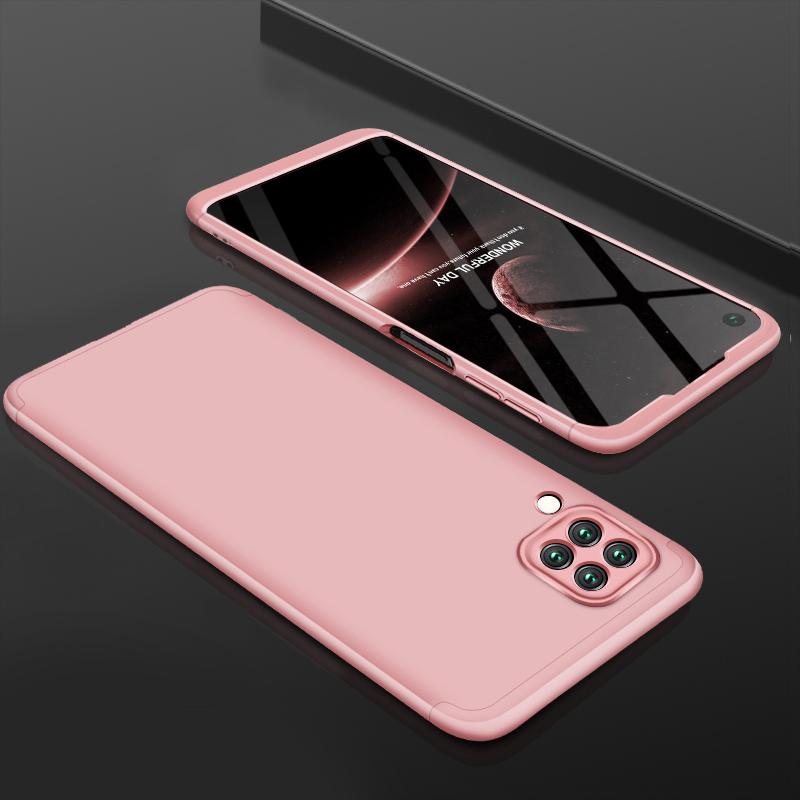 For HUAWEI Nova 6SE/P40 lite/Nova 7i Cellphone Case PC Full Protection Anti-Scratch Mobile Phone Shell Cover Rose gold