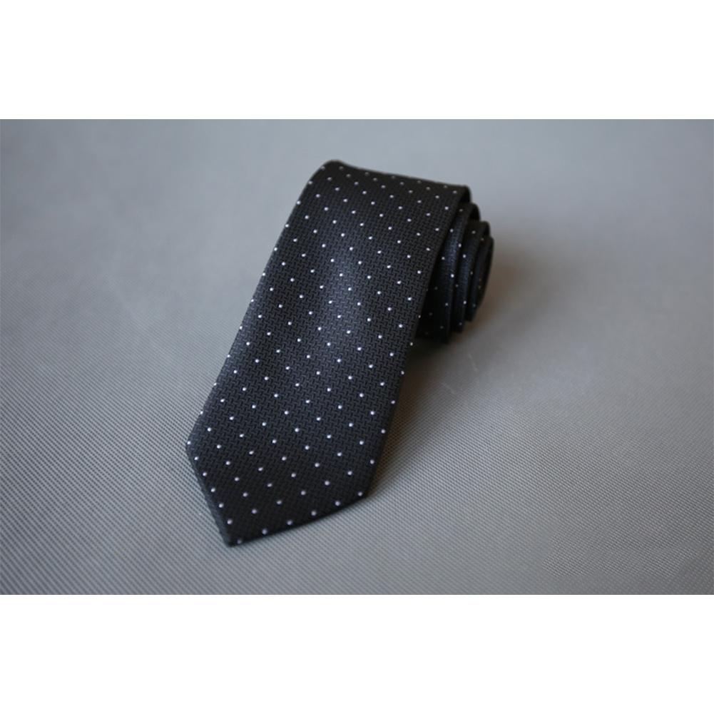 Men's Wedding Polyester Tie 7cm Necktie for Wedding Party Business  QLD-005
