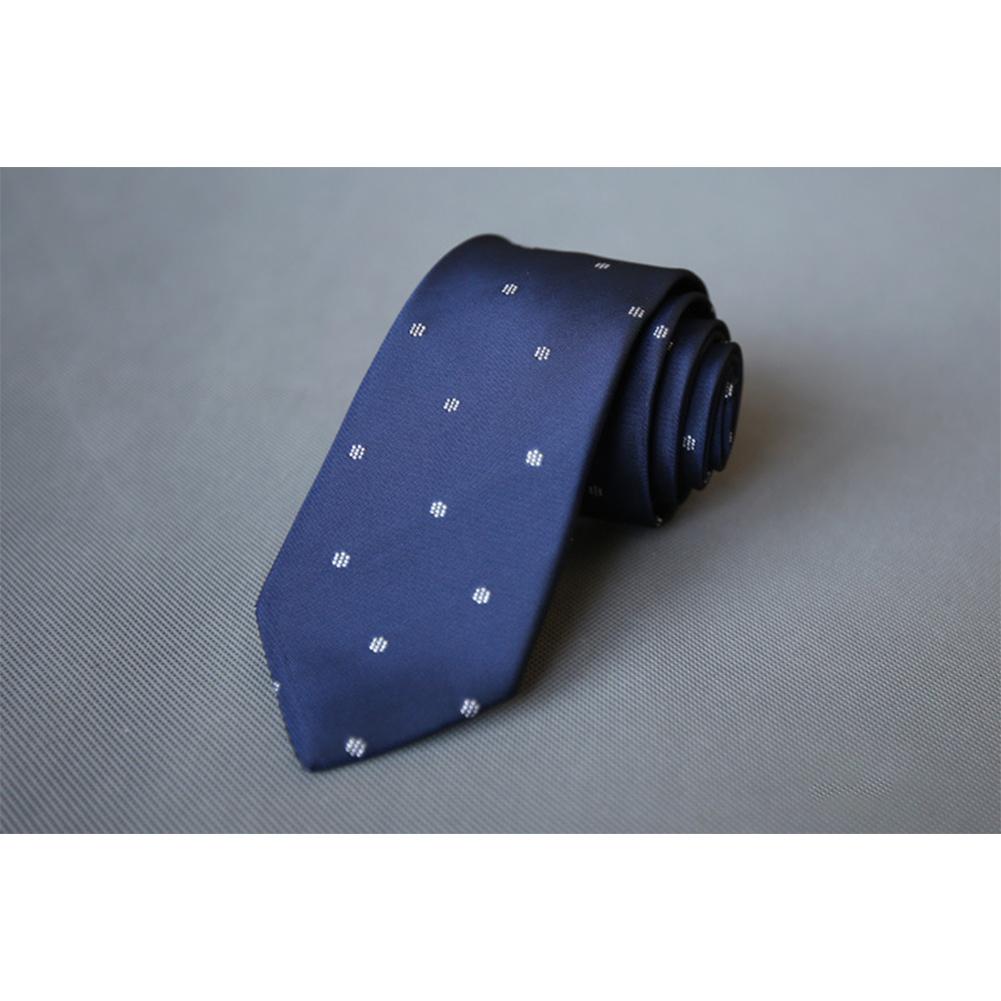 Men's Wedding Polyester Tie 7cm Necktie for Wedding Party Business  QLD-001
