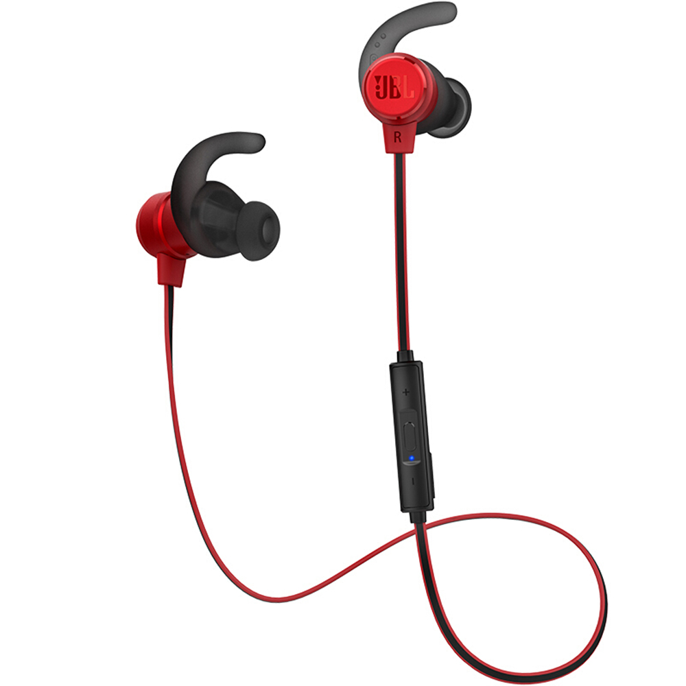 JBL T280BT Bluetooth Headphones Wireless Sport Earphone Sweatproof Headset In-line Control Volume with Microphone red