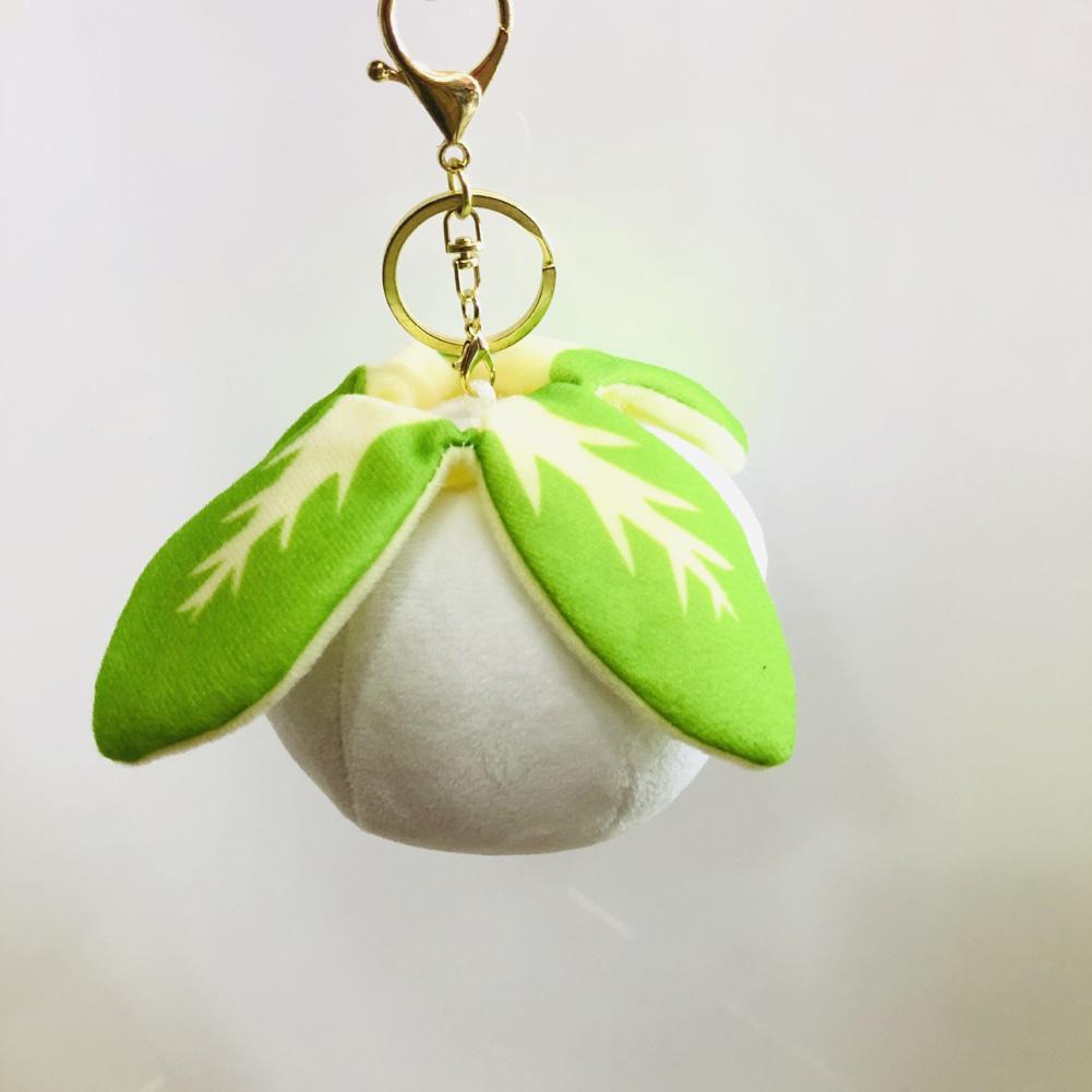 Cartoon Plush Stuffed Doll Toy Hanging Pendant for Bag Keychain Decor Kohlrabi