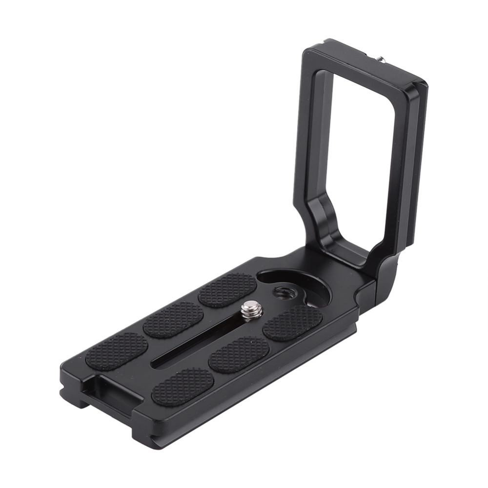 Quick Release L Plate Bracket Grip for Canon EOS 1200D 760D 750D 700D 650D 600D 70D 60D 5Ds 6D 7D 5D Mark II/III SLR Camera black
