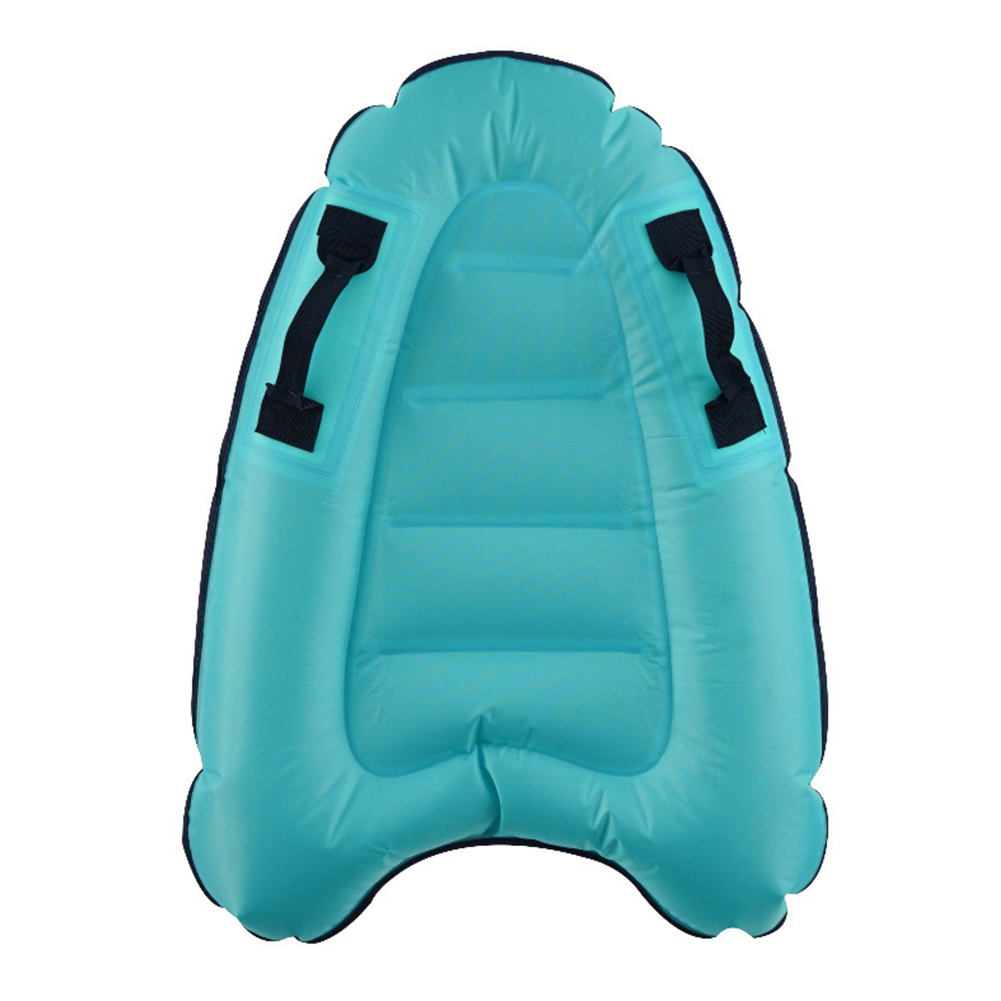 Outdoor Inflate Surfboard Portable Board Adult Children Swimming Leaning Board Sea Surfing Board Lake Blue